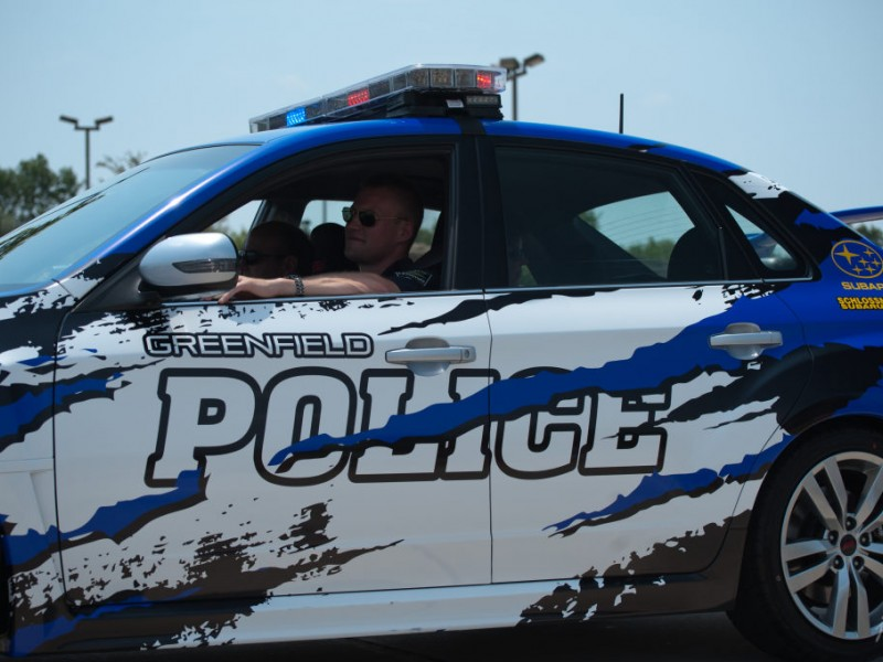 Subaru City Milwaukee >> Fast and Furious: Donated Greenfield Police Squad One of a Kind   Greenfield, WI Patch