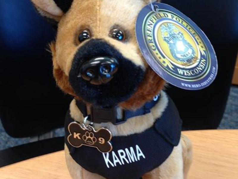 Plush Greenfield Police Dogs Now Available Greenfield Wi Patch