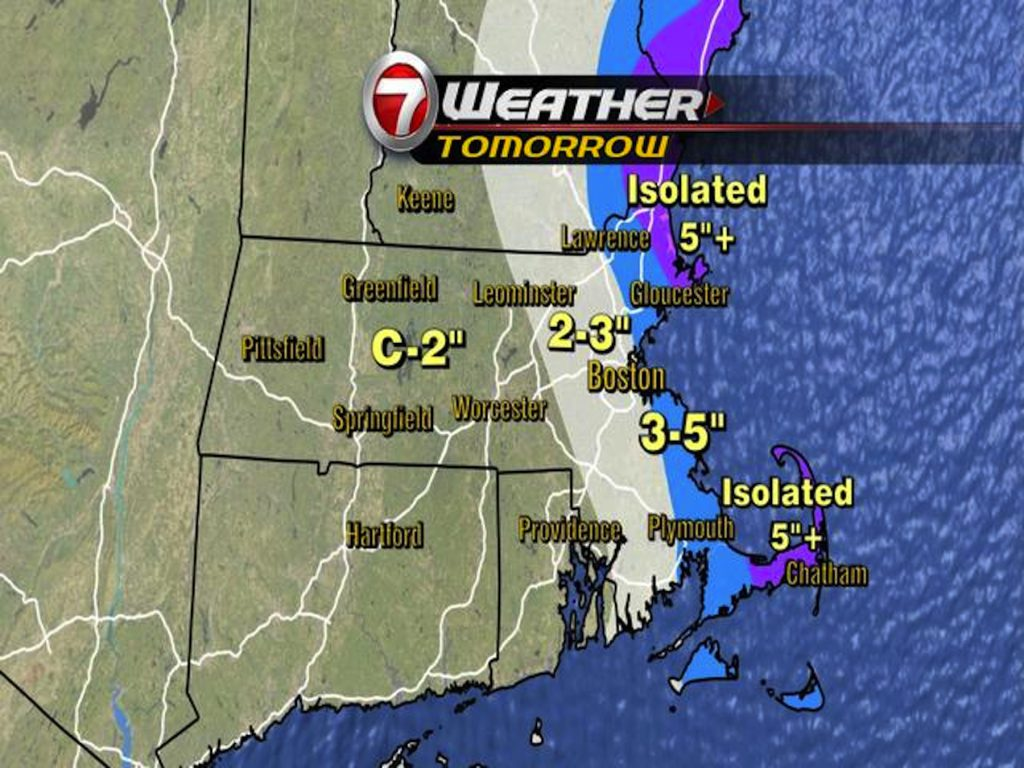Winter Weather Expected to Snarl Tuesday Morning Commute | Wayland