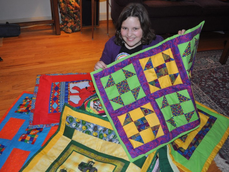 Quilts for Kids Project Strikes a Personal Chord for Sixth-Grader ... : patchwork quilt chords - Adamdwight.com