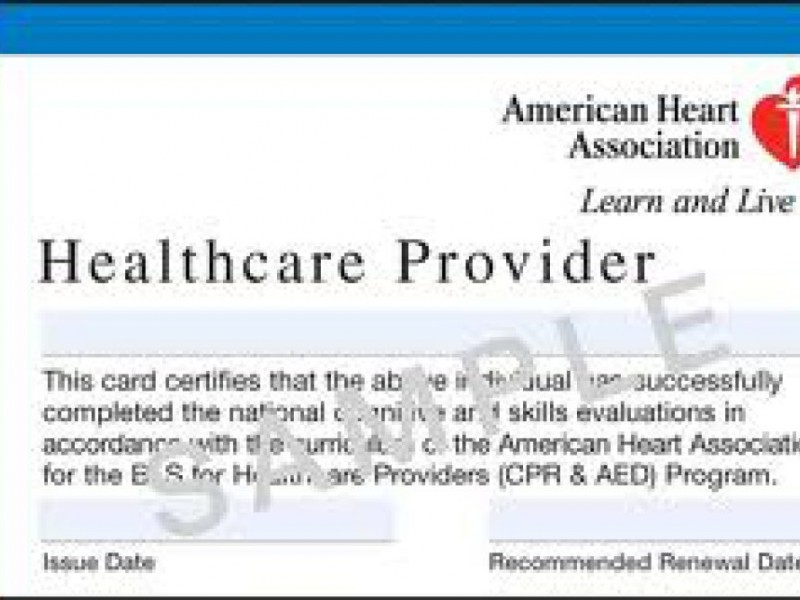 Bls Cpr For Healthcare Provides Berkeley Ca Patch