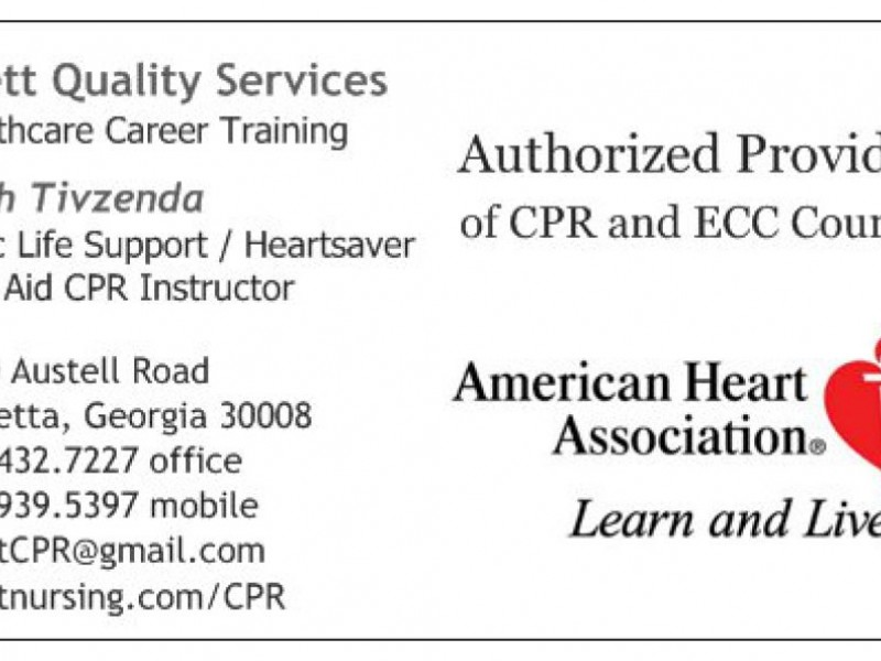 Cprfirst Aid Classes Canton Ga Patch
