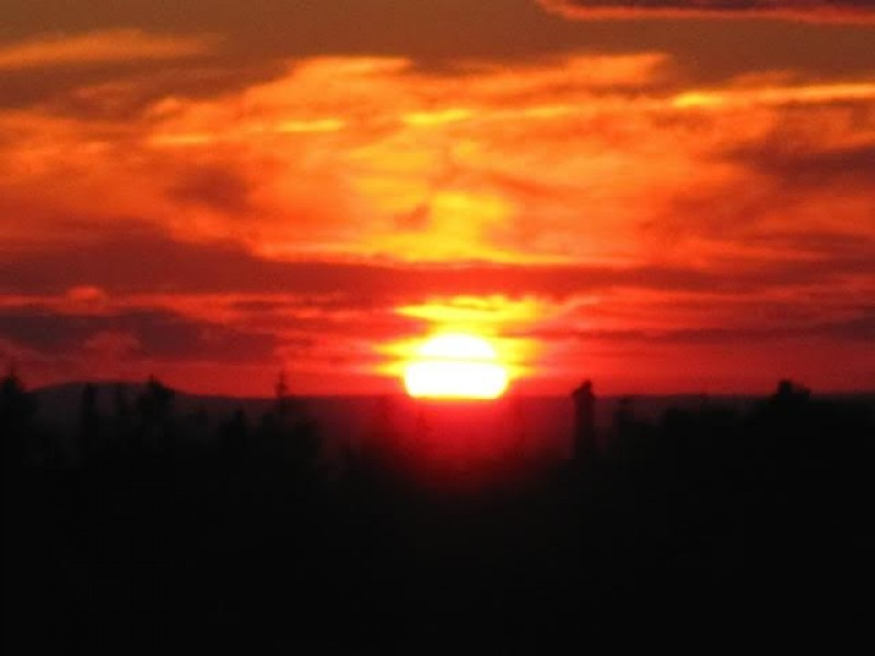 Winter Solstice Sunset Walk Framingham Ma Patch