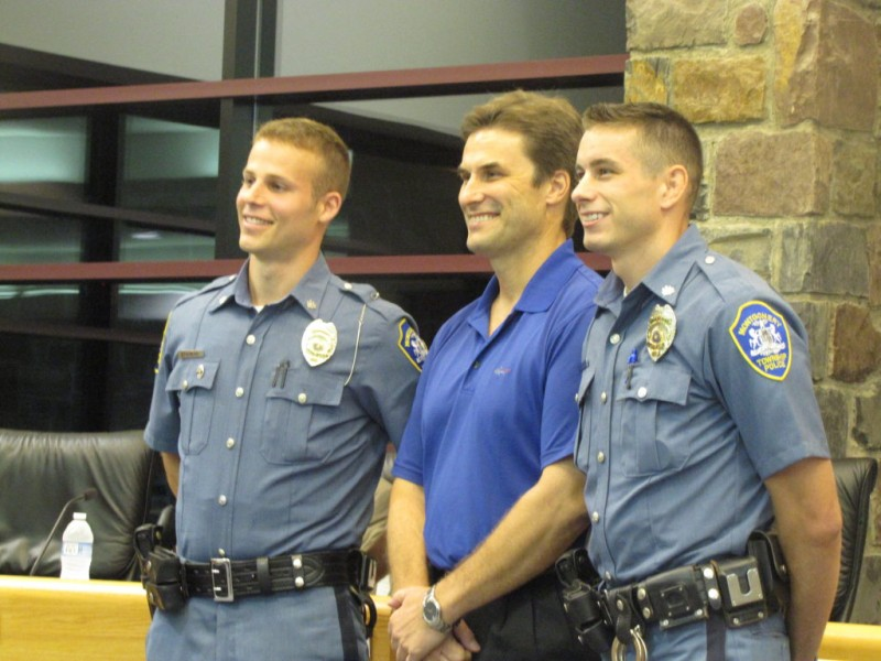 Montgomery Township Police Promotes Two Montgomeryville