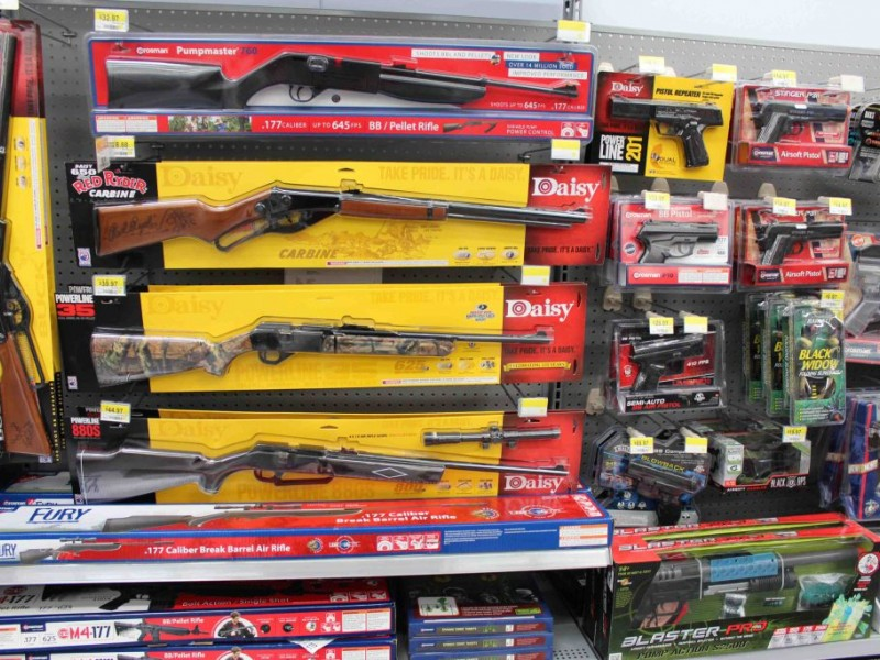 Toy Guns At Walmart : New local walmart on mlk drive decides not to sell rifles