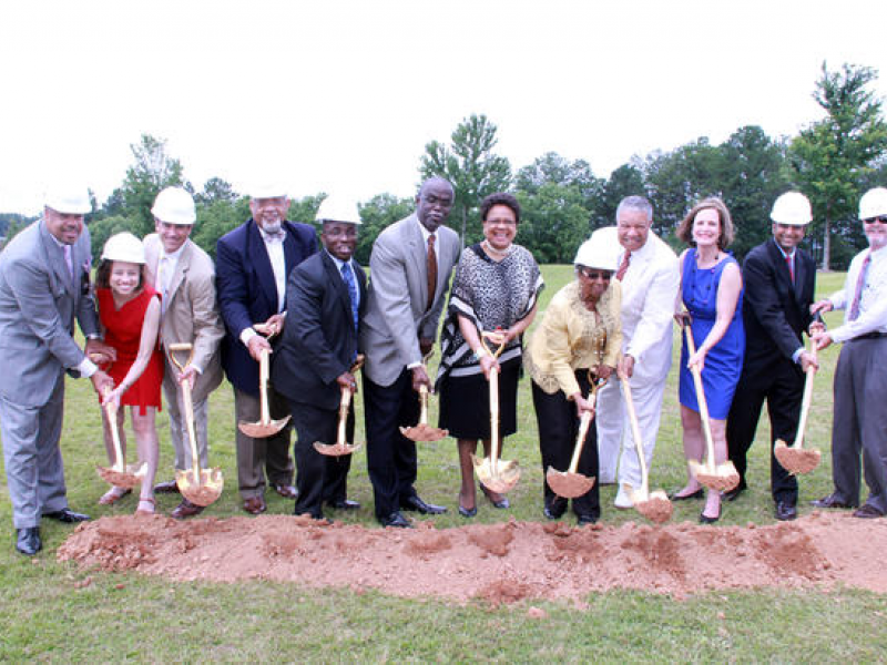 Commissioner Emma Darnell Breaks Ground at the New Aviation Community Cultural Center