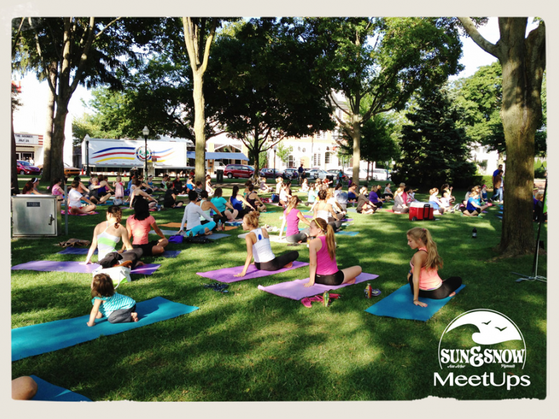 Free Yoga In The Park Plymouth Mi Patch