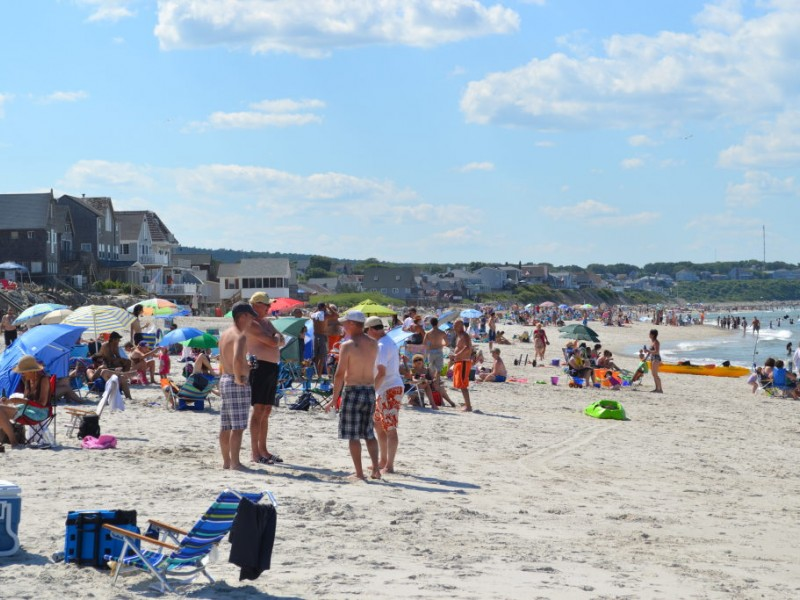 Tradition Continues On White Horse Beach July Third
