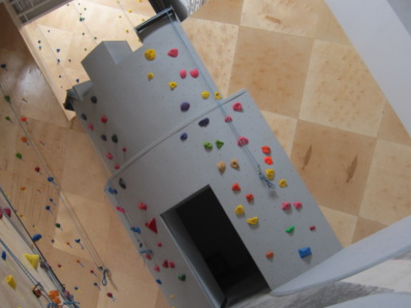 Sneak Peek of Huge Neighboring Rock Climbing Gym