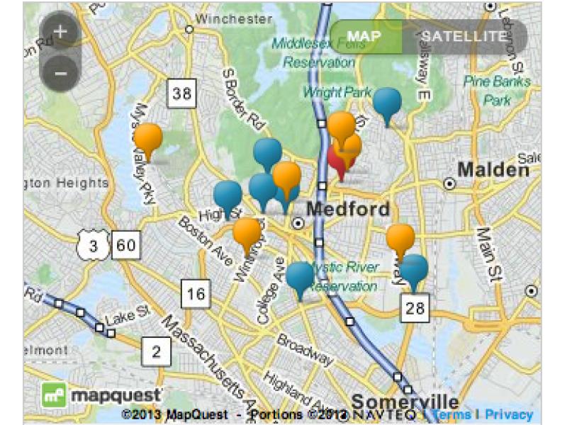 MAP Are Some Medford Neighborhoods Underrepresented in City