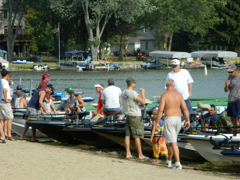Informal tuesday fishing tournament is bonding experience for Wisconsin fishing tournaments