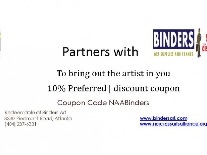 10% Discount at Binders Art Supply | Norcross, GA Patch