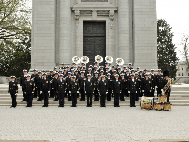 us naval academy band navy s birthday celebration annapolis md
