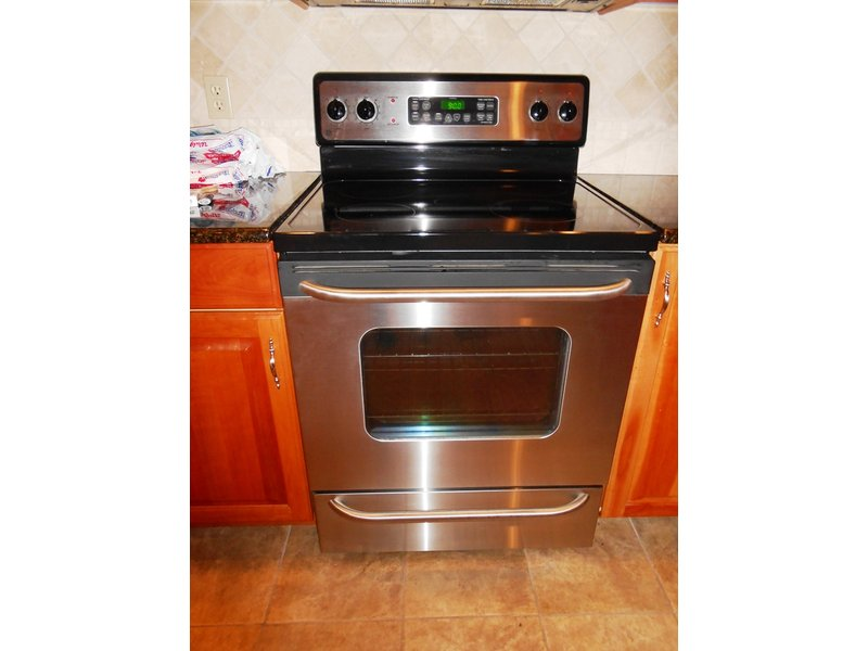 Stainless Steel Electric Stove ~ Ge stainless steel electric range stove for sale clark