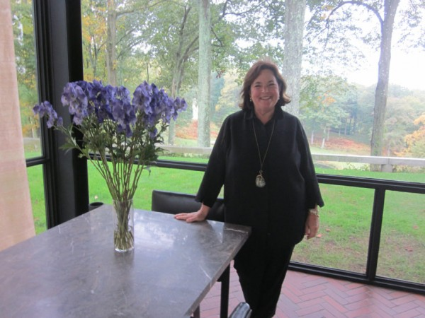 ina garten, the barefoot contessa, visits the glass house - new