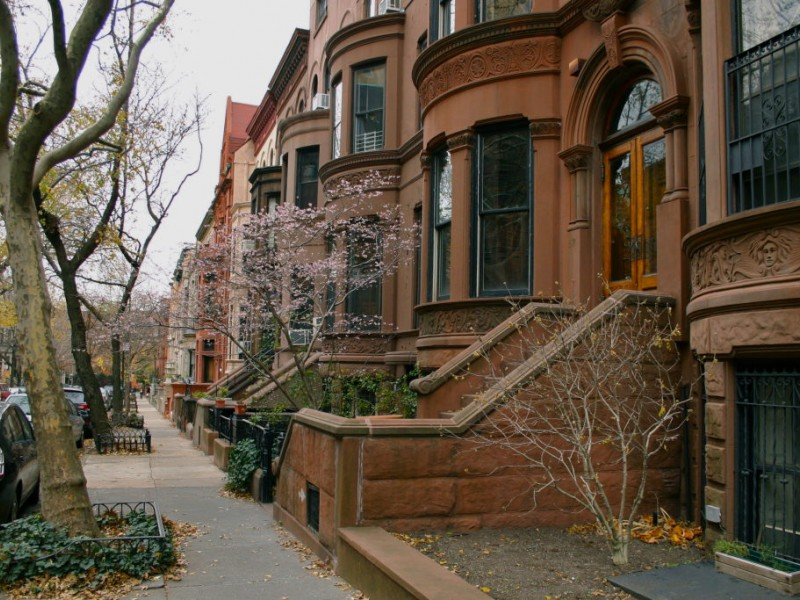 Brownstone Apartments In New York City