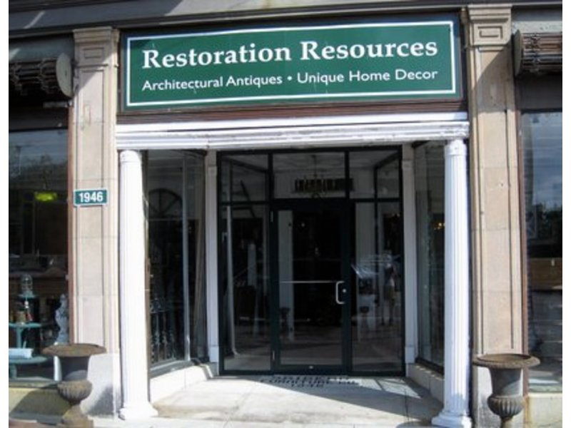 Join joanne palmisano at restoration resources this for Boston architectural salvage