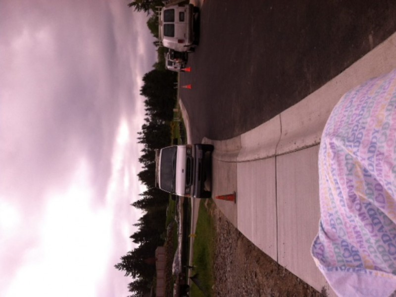 Sidewalks they are for pedestrians not cars garbage cans basketball hoops sammamish - Garbage can basketball hoop ...