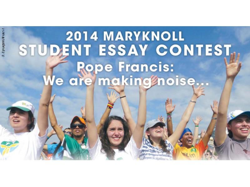 Maryknoll essay contest