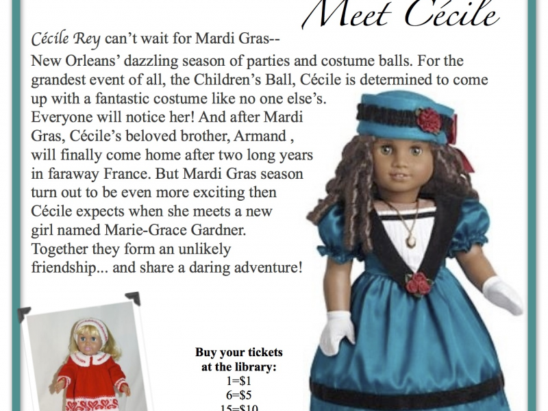 Are not american girl doll cecile