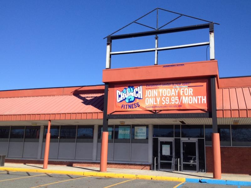 Crunch gym opening new location in west babylon