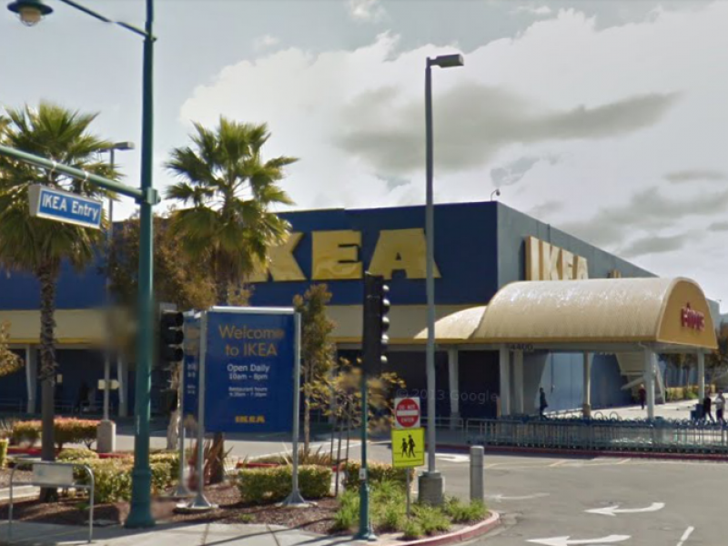 ikea store in emeryville evacuated fire hazard