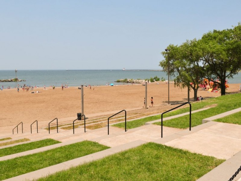 Great Lake Great Beaches Lakeview Park Westlake Oh Patch