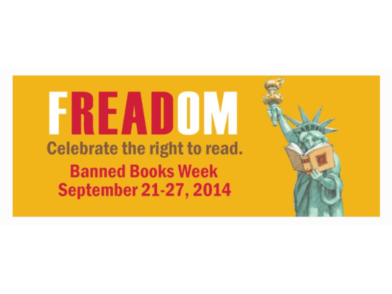 Celebrate Your Right to Read at Stamford's Ferguson Library