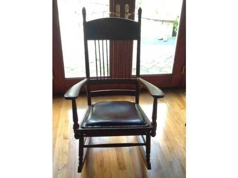 Antique Spindle Rocking Chair - Antique Spindle Rocking Chair Geneva, IL Patch