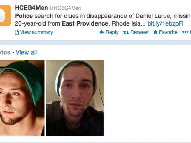 East Providence Police Search For Missing Man 0