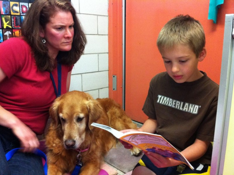 Love On A Leash: Paws to Read Program
