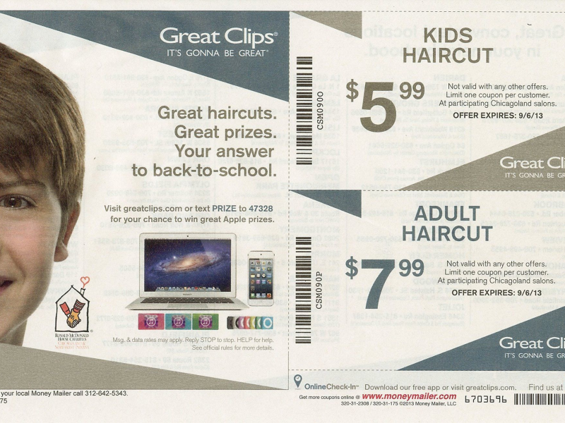 Great Clips Back To School Coupon Oak Lawn Il Patch
