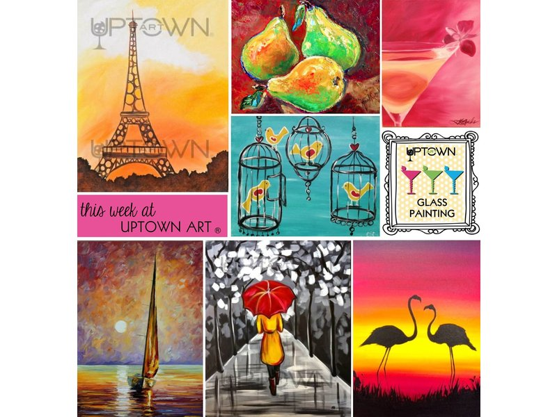 Uptown Art Calendar Denville Nj : Meet drink and paint happy at uptown art in denville