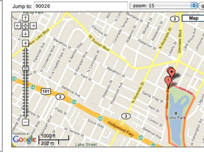 Map A Walking Route In Your Neighborhood Echo Park CA Patch - Map your walking route