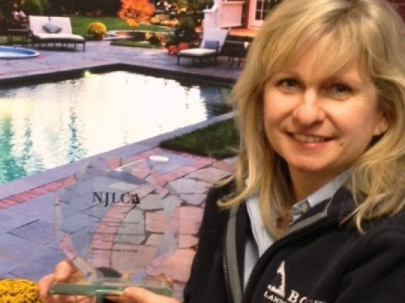 borst landscape design wins distinction award from new jersey