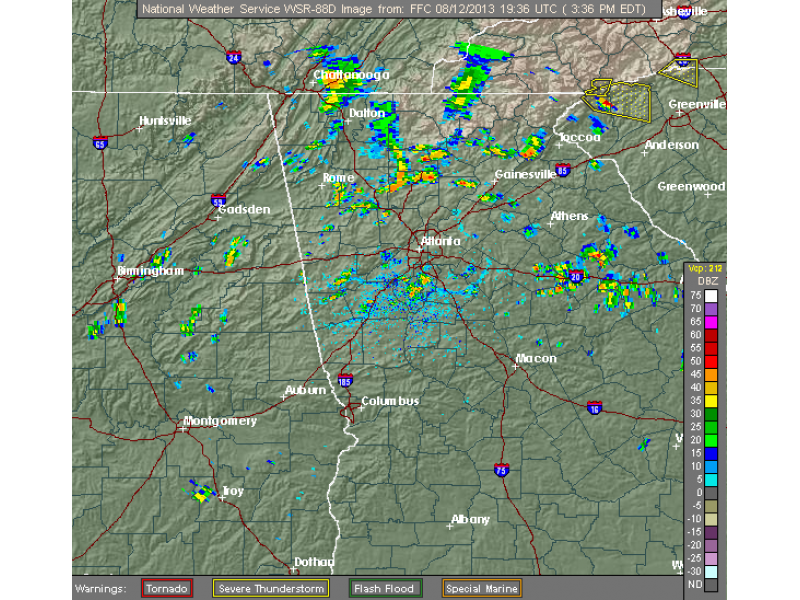 Significant Weather Advisory in Effect for Cherokee County