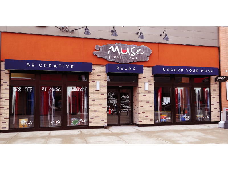 Muse Paintbar Now Open At Patriot Place Foxborough Ma Patch