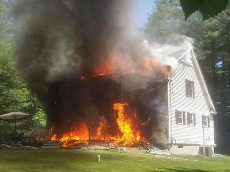 Fire Causes Heavy Damage to Walpole Home   Walpole, MA Patch