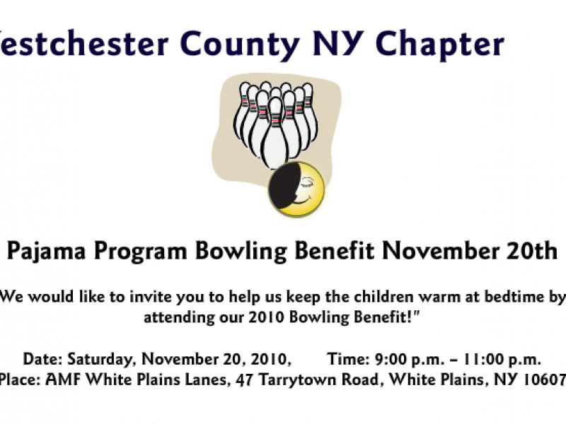 Pajama Program Bowling Benefit New Rochelle Ny Patch