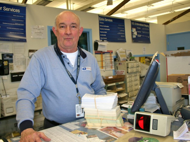 Post Office Says Goodbye to Beloved Clerk   Marple Newtown, PA Patch