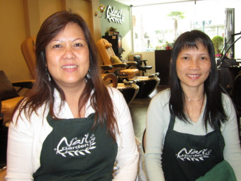 Mani, Pedi and Me Chillax at the Nail Garden | Brentwood, CA Patch