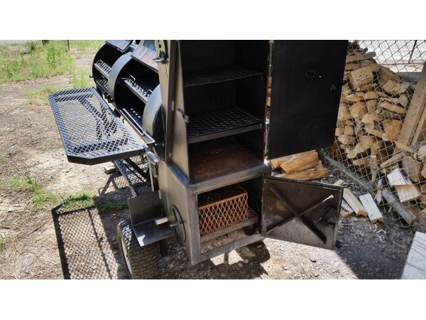 Lang 36 Hybrid Deluxe Patio Smoker Cooker Awesome Bbq