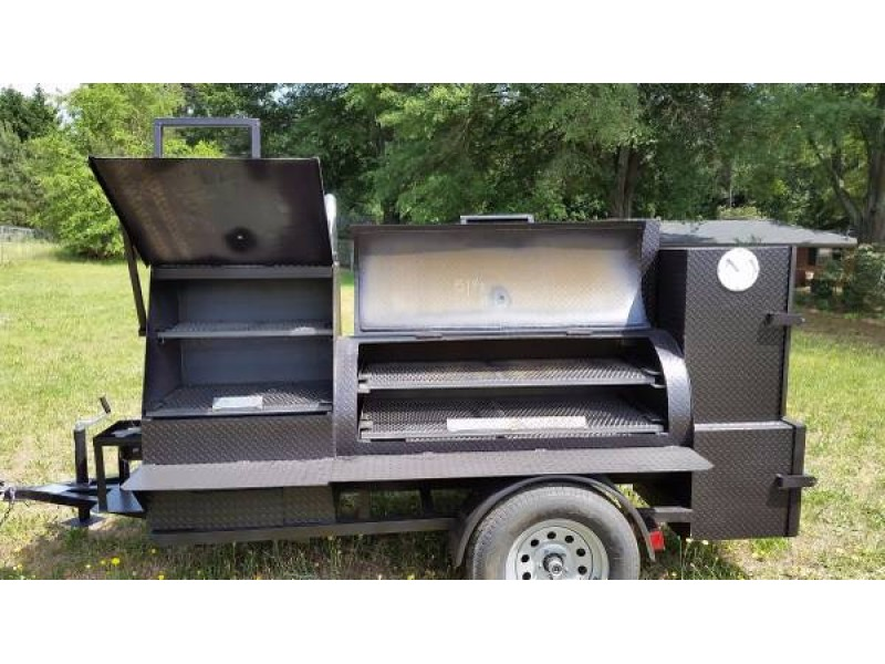 Bbq Smoker Cooker Grill Competition Trailer Upgrade Rims