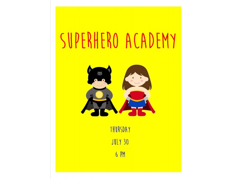 Superhero Academy Palos Il Patch