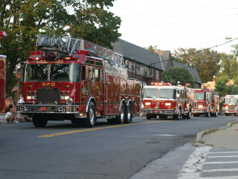 Ossining Fire Department Holds Annual Parade Ossining