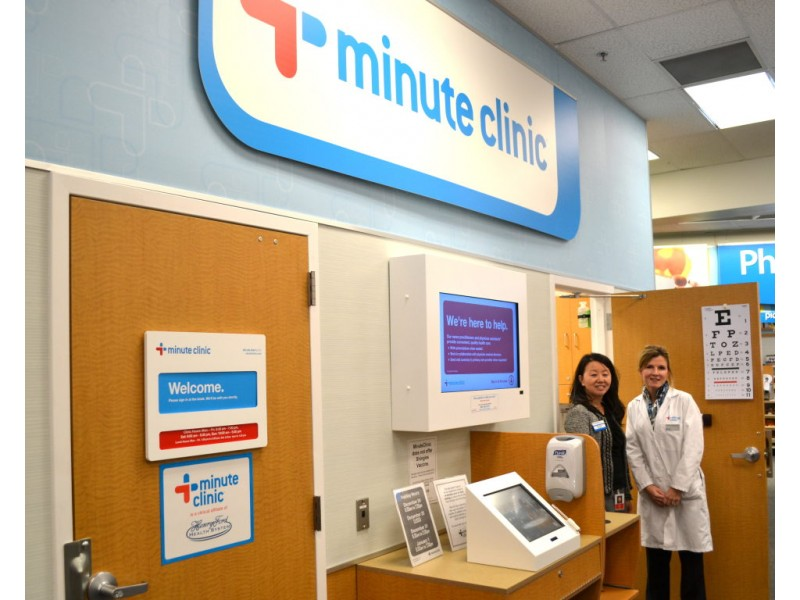 walk in minuteclinic opens in grosse pointe cvs grosse pointe mi