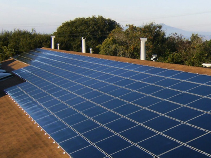 SolarCity Installing Solar Panels at Glastonbury Town Hall ...