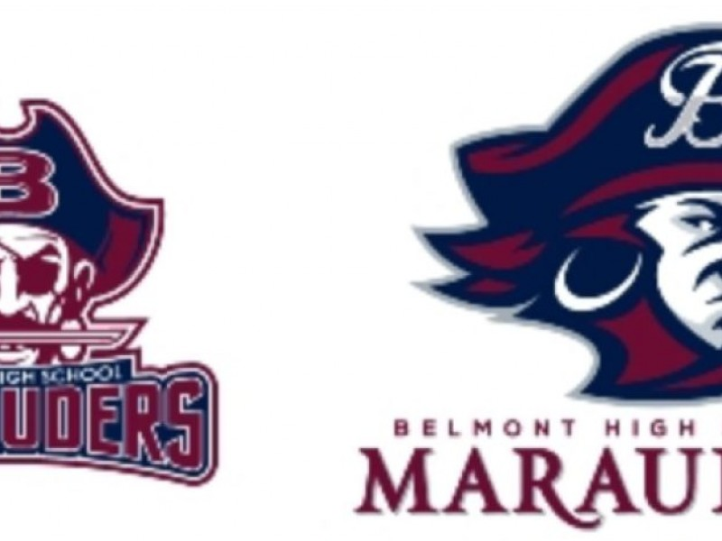 Belmont High Students To Decide Future of Marauder Logo