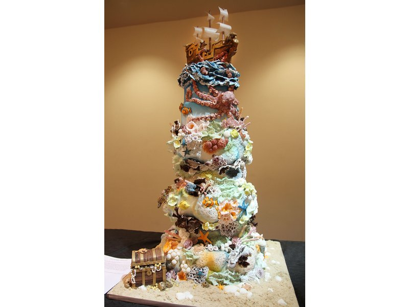 Cake Art Competition : Cinnaminson Pastry Chef Takes 2nd Place at Art of Cake ...