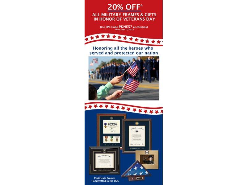 Thank You Shelton Veterans! Take Advantage of 20% Off Military ...